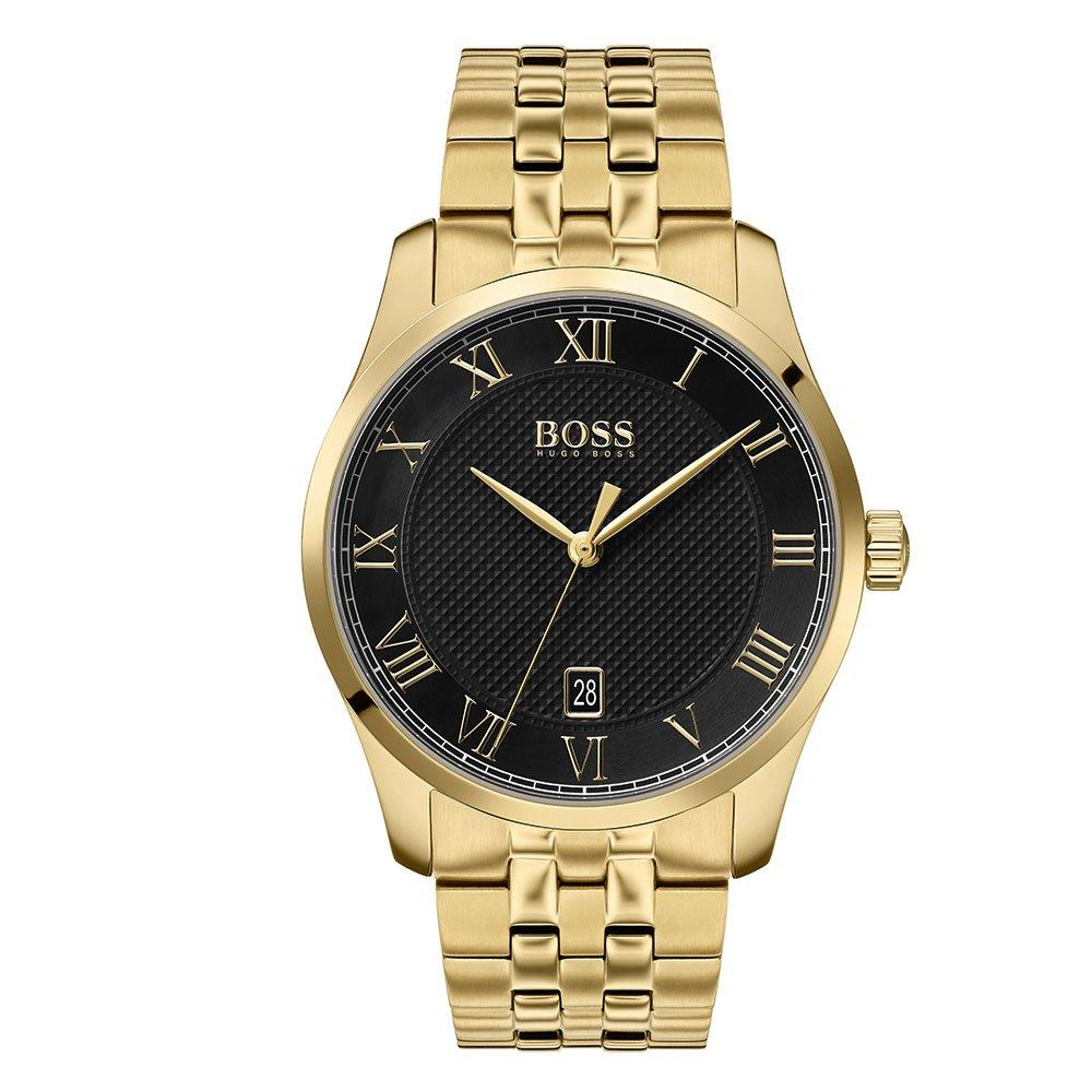 Hugo Boss Master Gold Plated Men's Watch