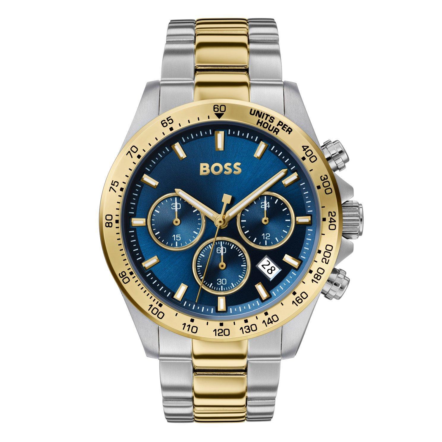 BOSS Hero Sport Lux Steel And Gold Tone Men's Watch