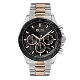 Hugo Boss Hero Sport Lux Steel And Rose Gold Tone Men's Watch