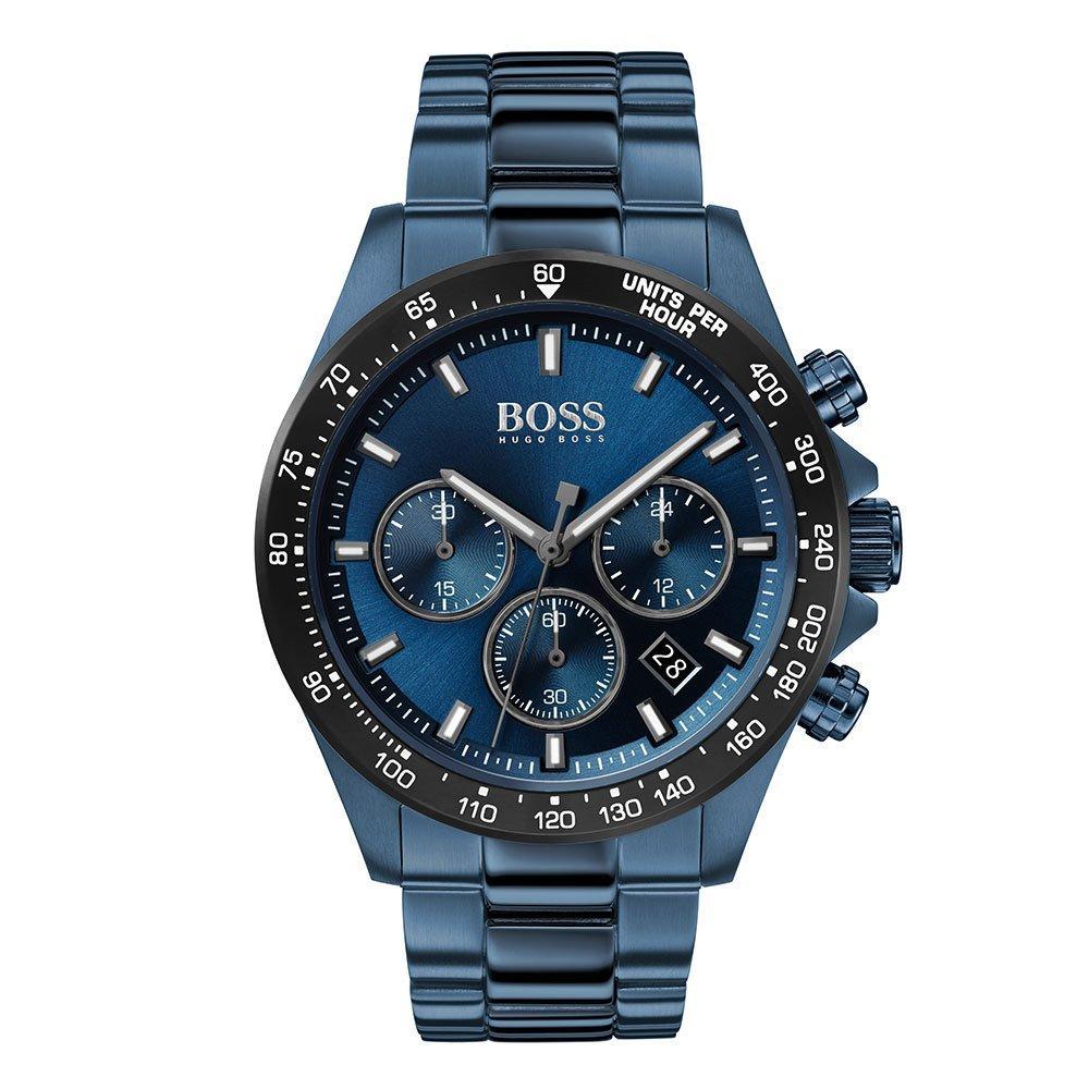 BOSS Hero Sport Lux Blue Ion Plated Men's Watch