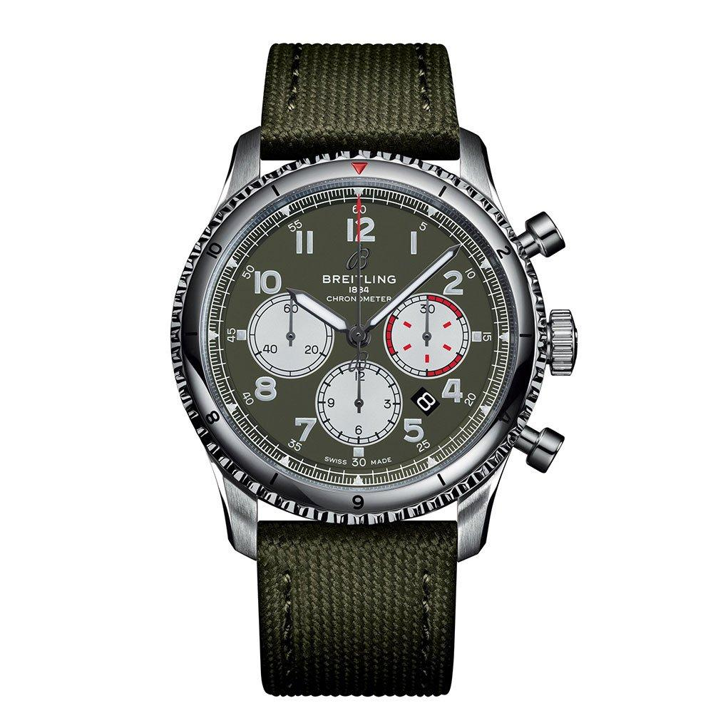 Breitling Aviator 8 B01 Curtiss Warhawk Automatic Chronograph Men's Watch
