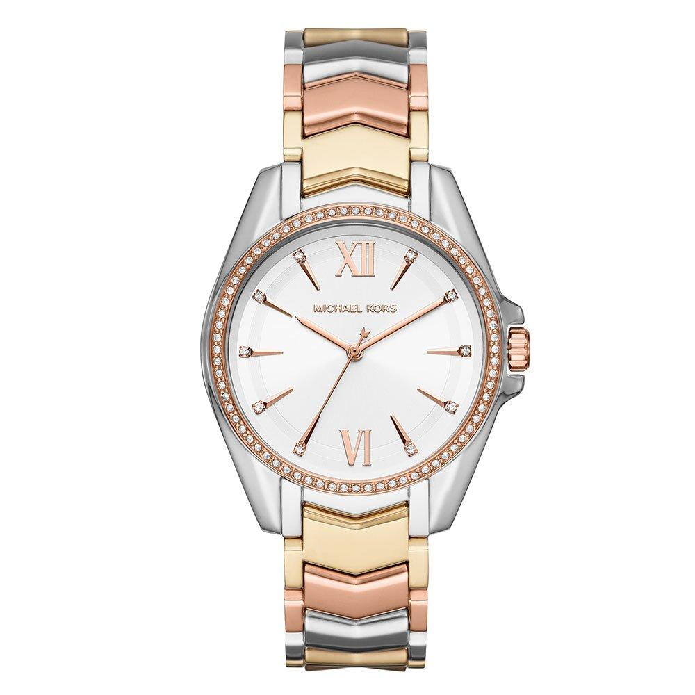 Michael Kors Whitney Tri Tone Ladies Watch