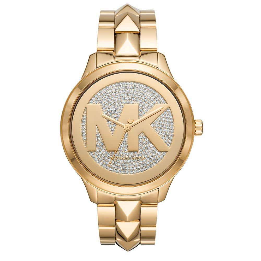 Michael Kors Runway Mercer Gold Tone Ladies Watch