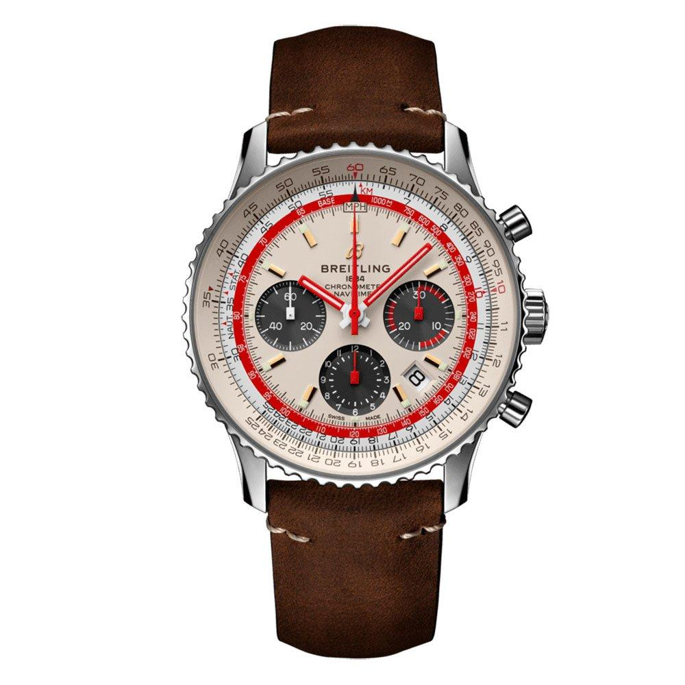 Breitling Navitimer 1 B01 Chronograph 43 TWA Limited Edition Automatic Men's Watch