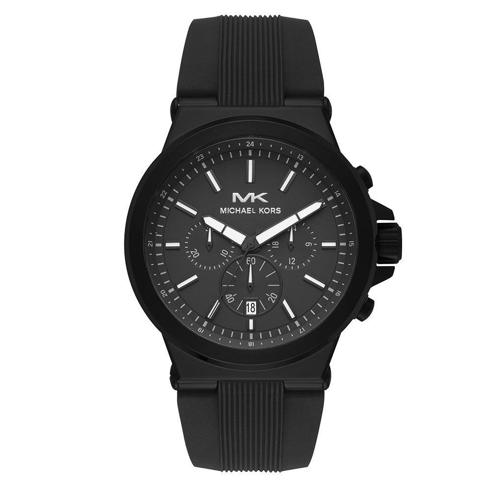 Michael Kors Dylan Black Chronograph Men's Watch
