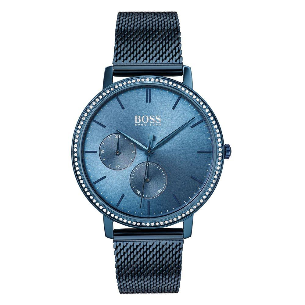 BOSS Infinity Blue Mesh Ladies Watch