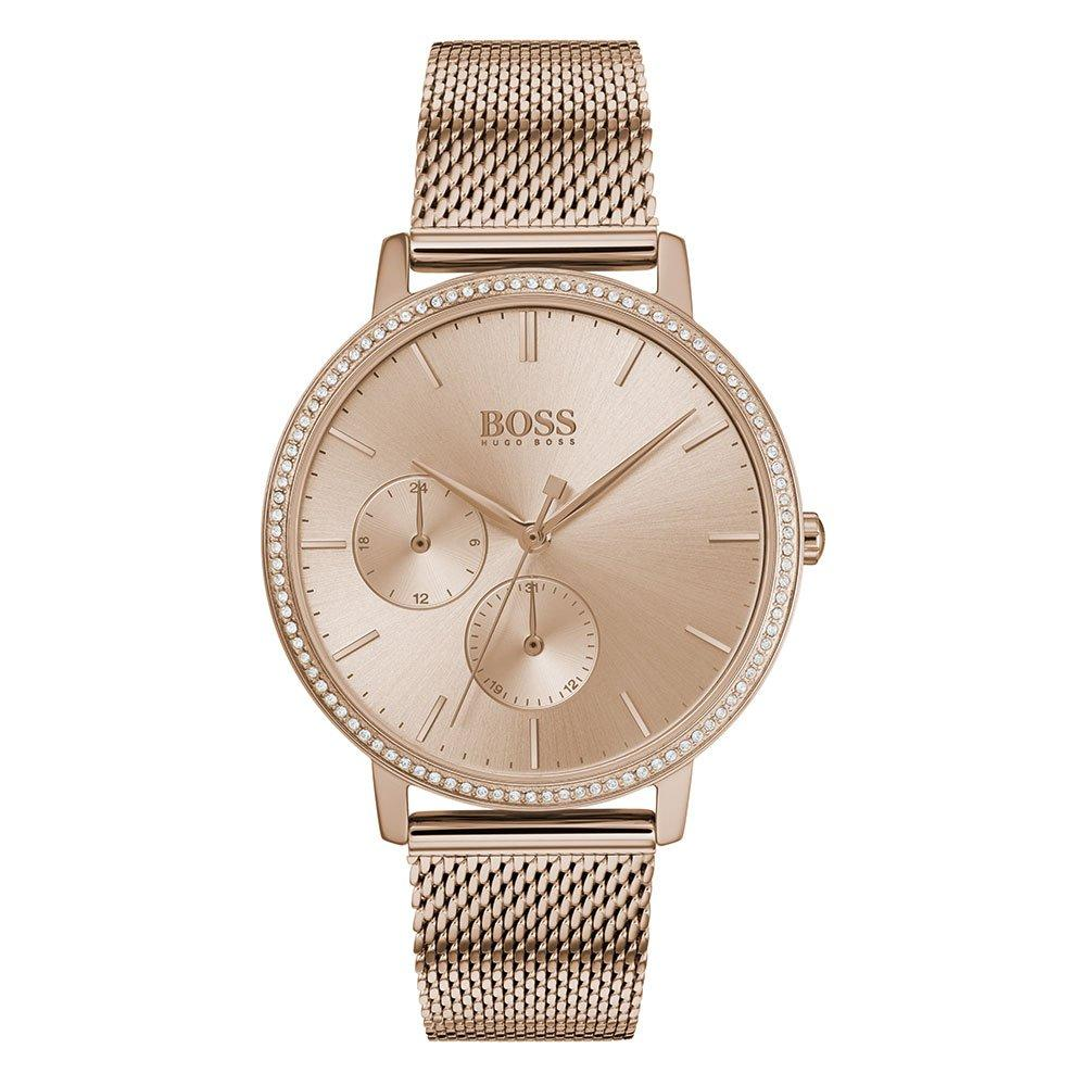 Hugo Boss Infinity Gold Plated Ladies Watch
