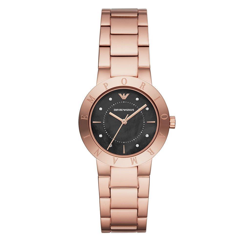 Emporio Armani Rose Gold Tone Ladies Watch
