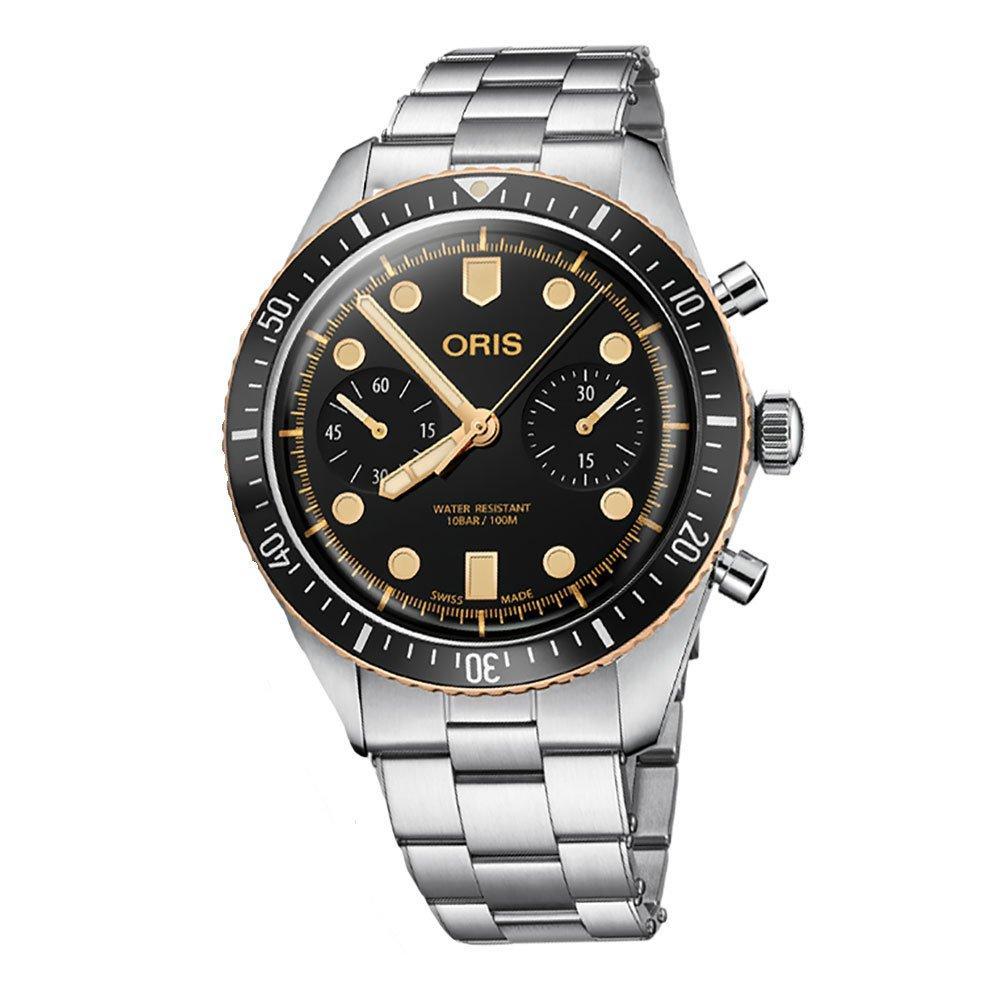 Oris Divers 65 Chronograph Bronze Men's Watch