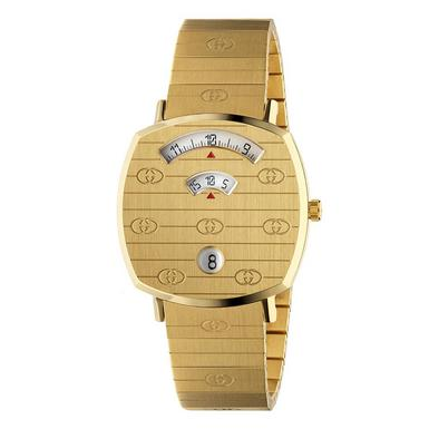 Gucci Grip Gold PVD Watch