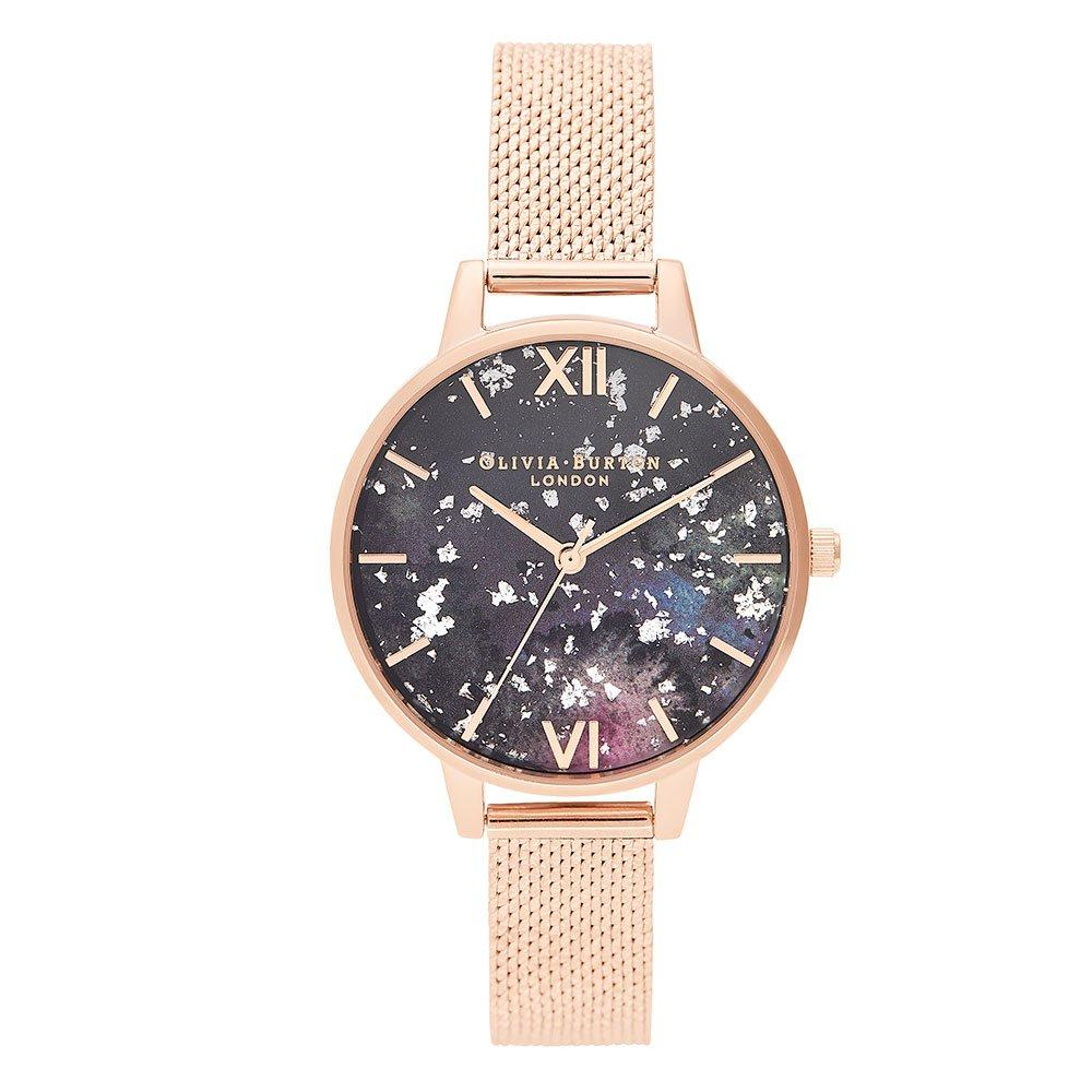 Olivia Burton Celestial Mesh Rose Gold Plated Ladies Watch