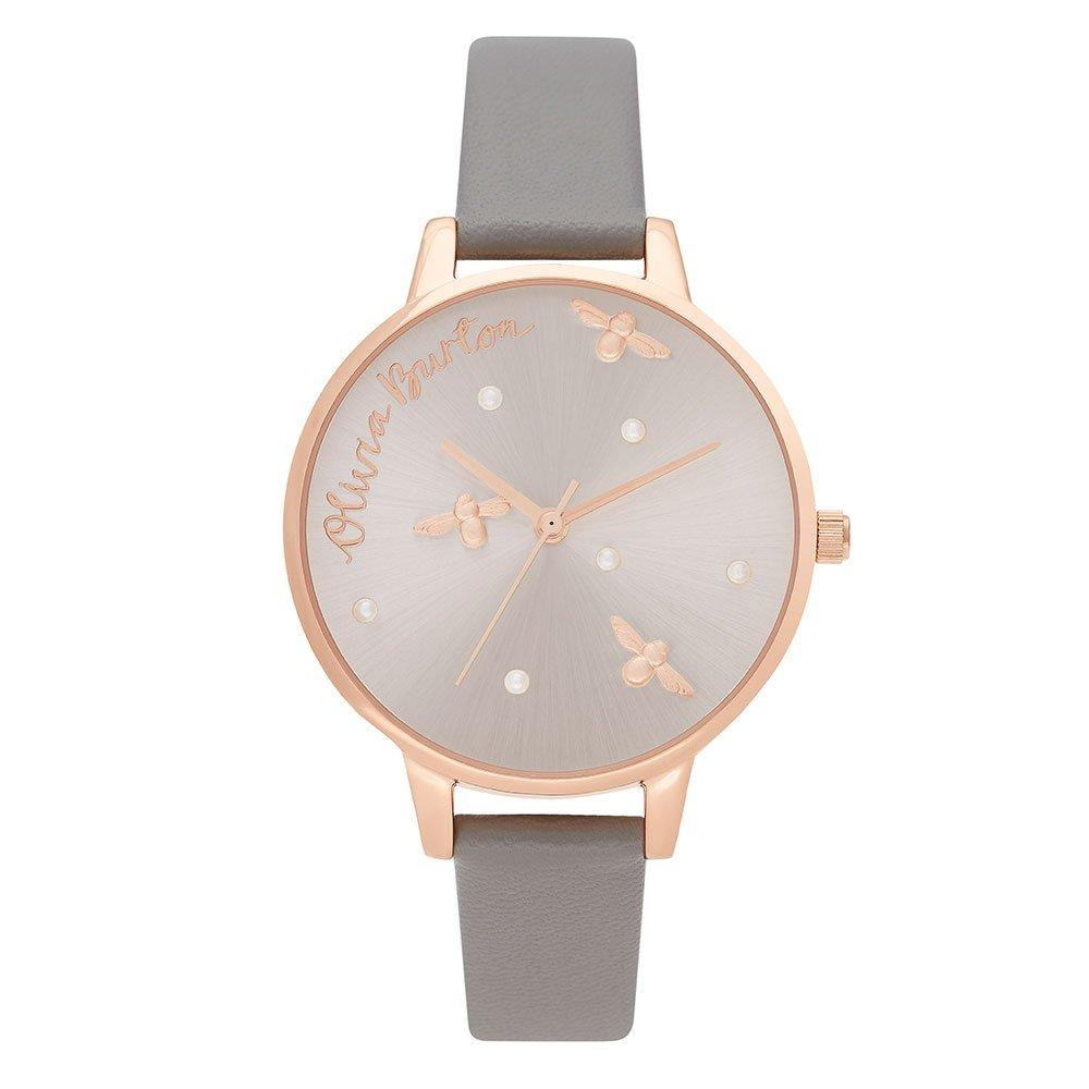 Olivia Burton Pearly Queen Rose Gold Tone Ladies Watch