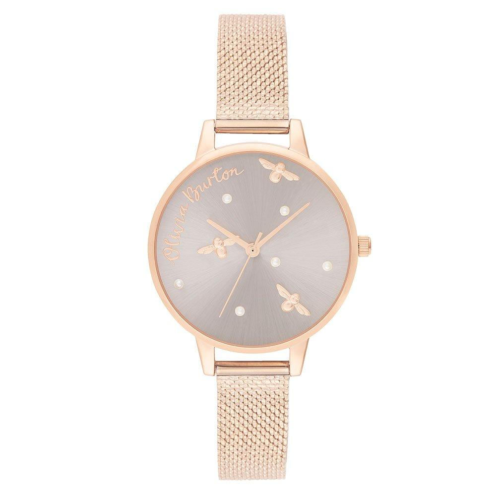 Olivia Burton Pearly Queen Rose Gold Plated Ladies Watch