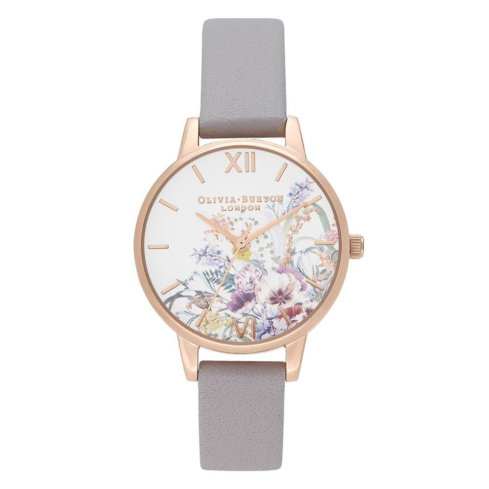 Olivia Burton Enchanted Garden Rose Gold Plated Ladies Watch