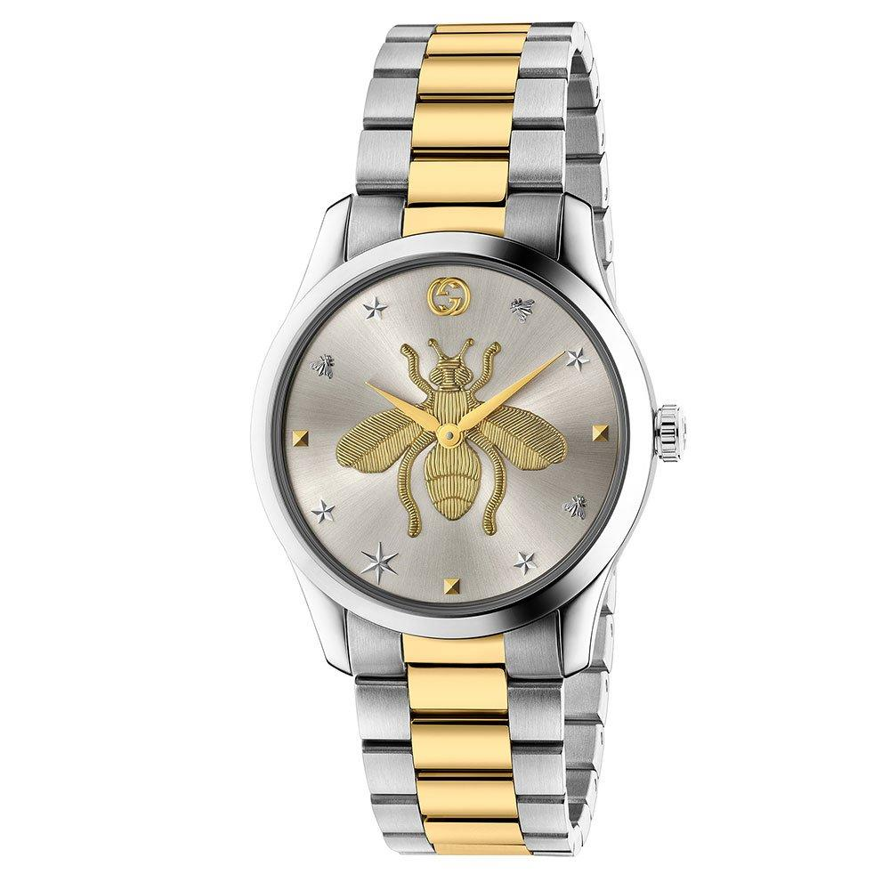 Gucci G-Timeless Iconic Steel and Gold PVD Watch