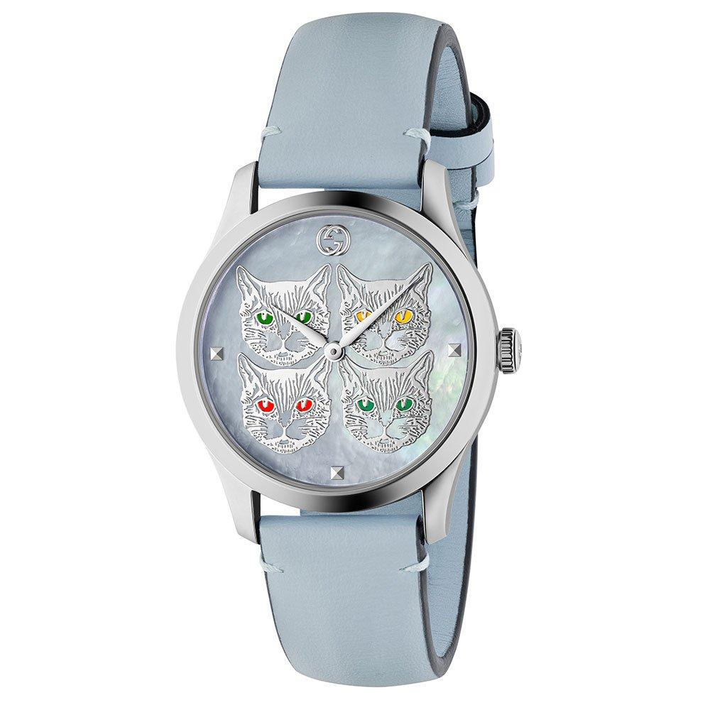 Gucci G-Timeless Feline Ladies Watch