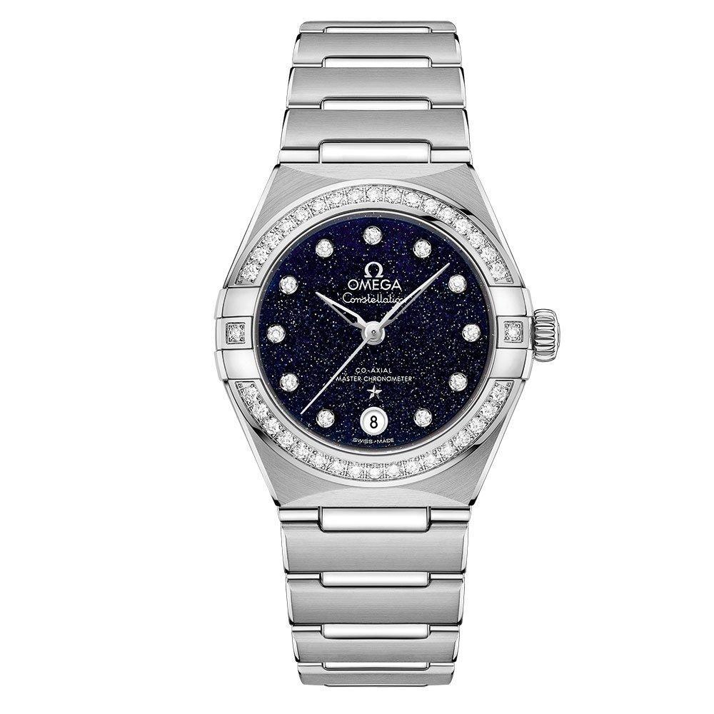 OMEGA Constellation Manhattan Diamond Automatic Ladies Watch