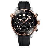 OMEGA Seamaster Diver 300m 18ct Sedna Gold Automatic Chronograph Men's Watch