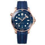 OMEGA Seamaster Diver 300m Sedna Gold Co-Axial Master Chronometer Mechanical Men's Watch