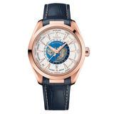 OMEGA Seamaster Aqua Terra Co-Axial Master Chronometer Worldtimer Men's Watch