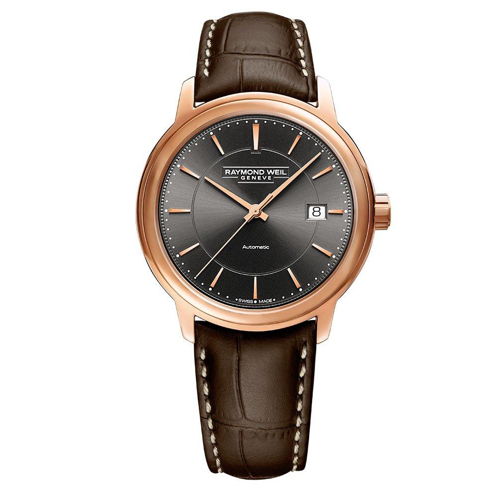 Raymond Weil Maestro Rose Gold Tone PVD Automatic Men's Watch