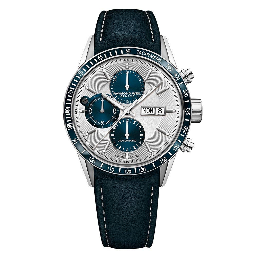 Raymond Weil Freelancer Steel and Blue PVD Automatic Men's Watch