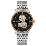 Rado Coupole Classic Steel and Rose Gold Tone Automatic Men's Watch