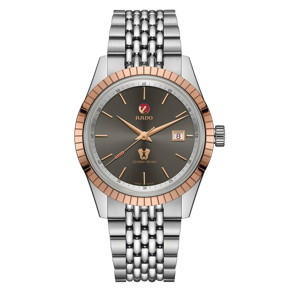Rado Golden Horse Rose Gold Tone and Steel Men's Watch