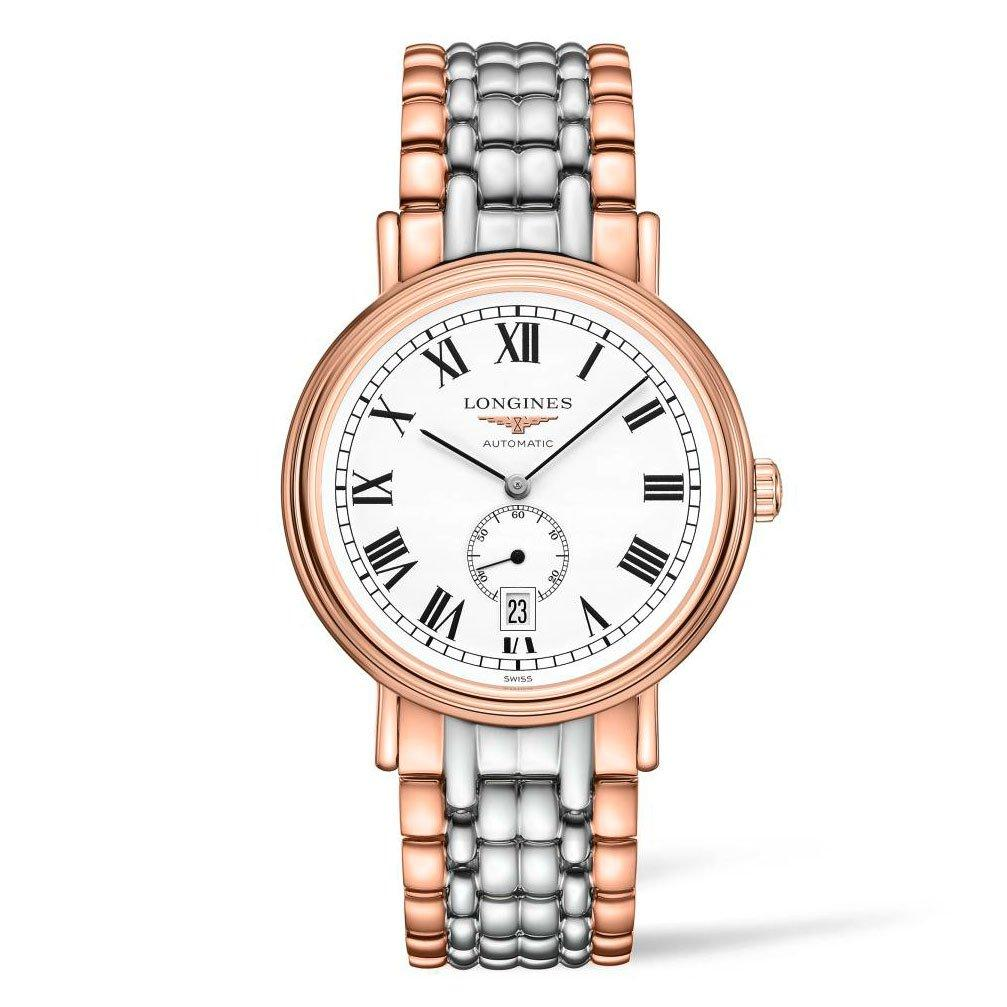 Longines Présence Steel And Rose Gold Plated Ladies Watch