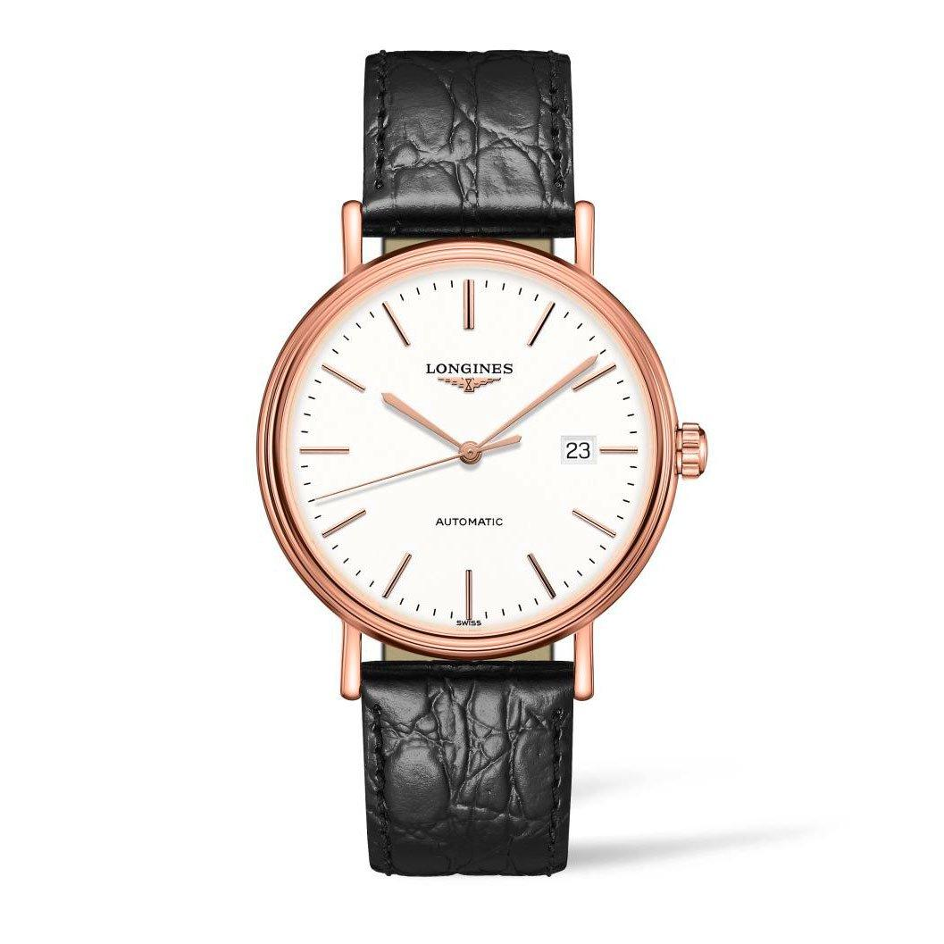 Longines Présence Rose Gold Plated Automatic Men's Watch