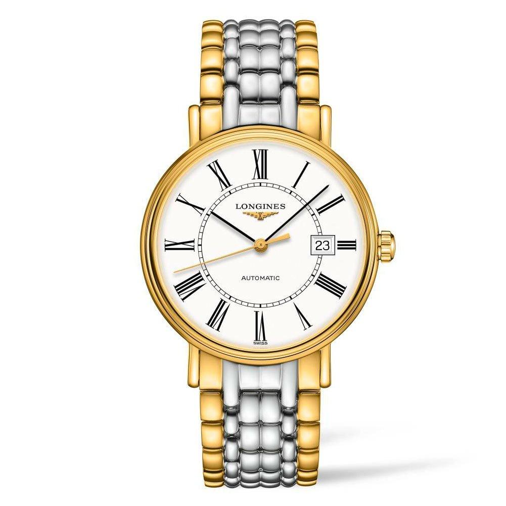Longines Présence Steel And Gold Plated Ladies Watch