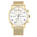 Tommy Hilfiger Gold Plated Men's Watch