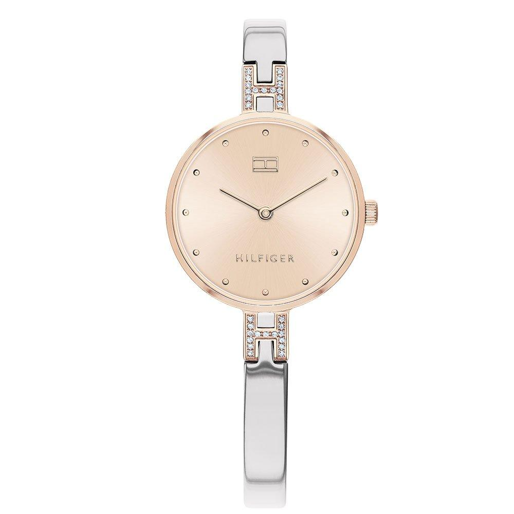 Tommy Hilfiger Kit Steel And Rose Gold Tone Ladies Watch