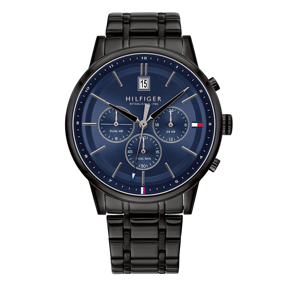 Tommy Hilfiger Black Ion Plated Chronograph Men's Watch