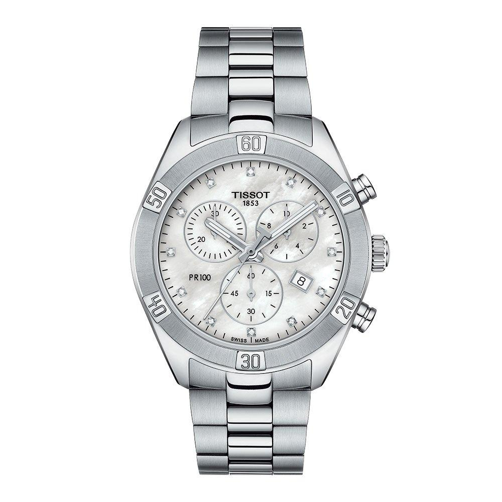 Tissot PR 100 Sport Chic Chronograph Ladies Watch