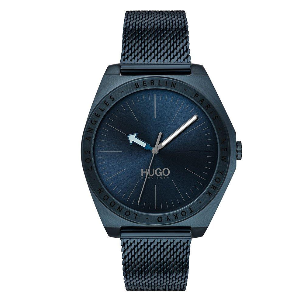 HUGO By Hugo Boss Act Blue Ion Plated Men's Watch