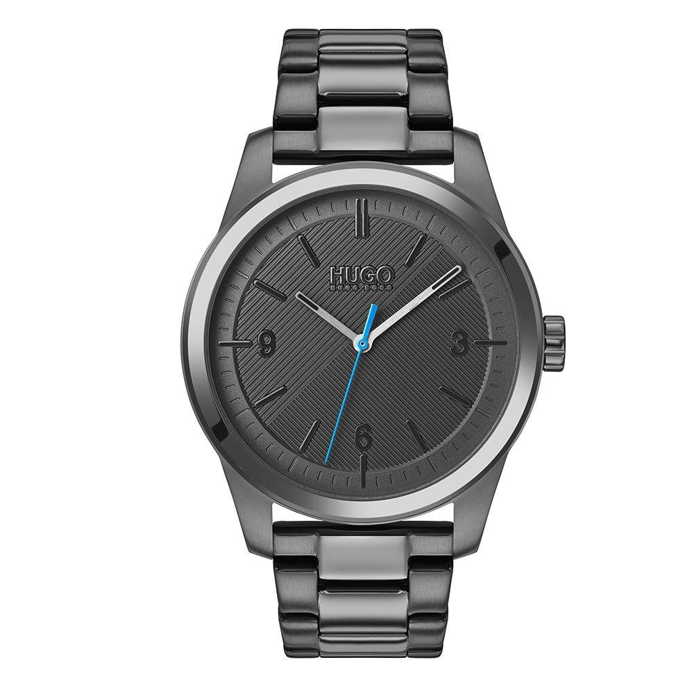 HUGO By Hugo Boss Create Grey Ion Plated Men's Watch