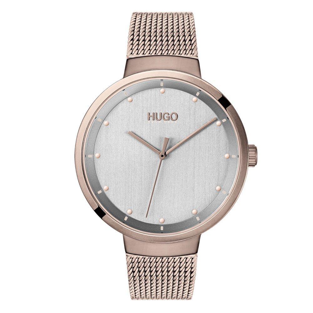 HUGO By Hugo Boss Go Rose Gold Tone Ladies Watch