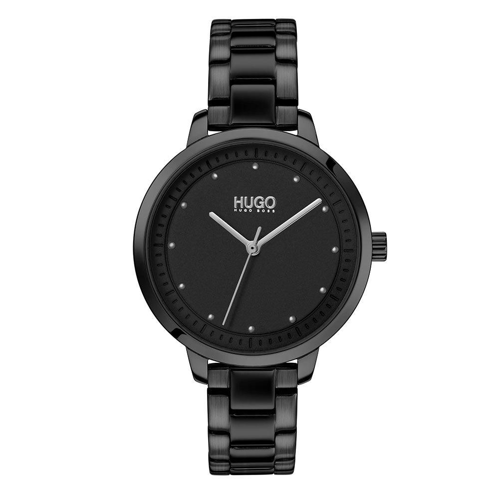 HUGO By Hugo Boss Achieve Black Ladies Watch