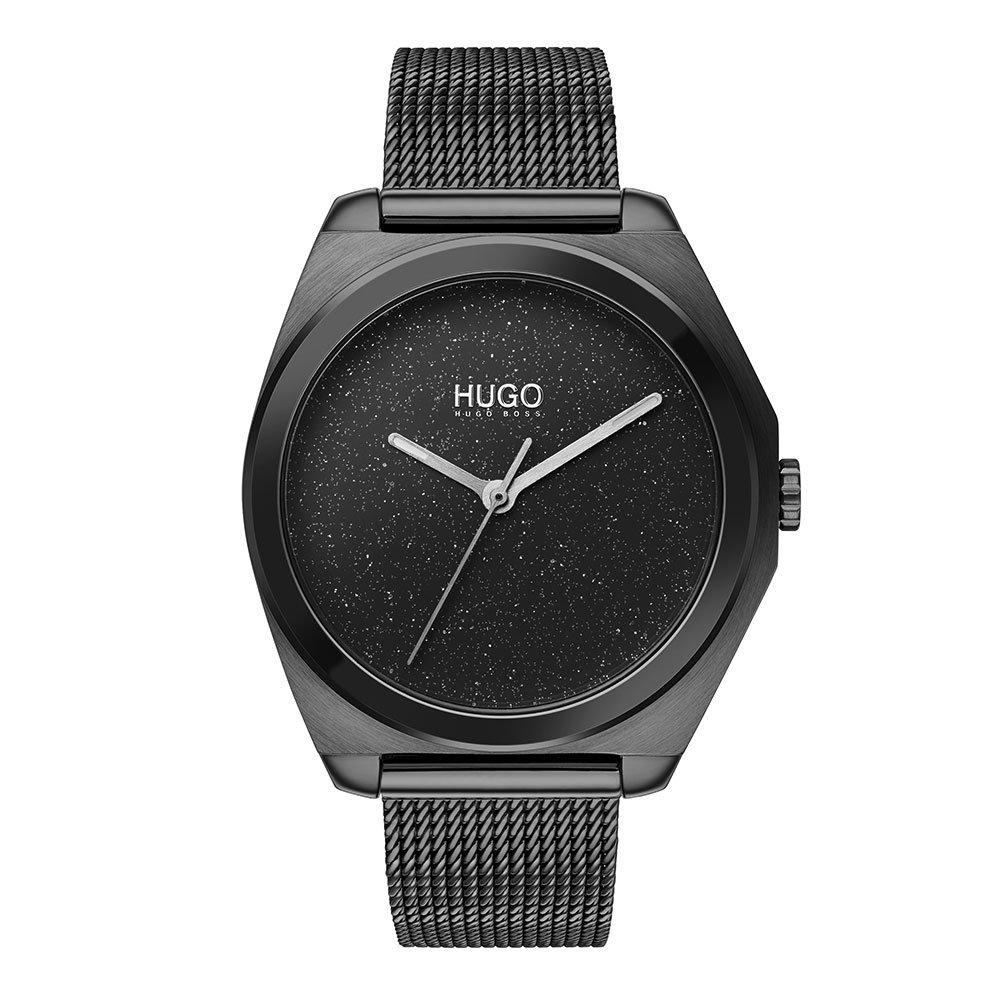 HUGO By Hugo Boss Imagine Glitter Black Ladies Watch