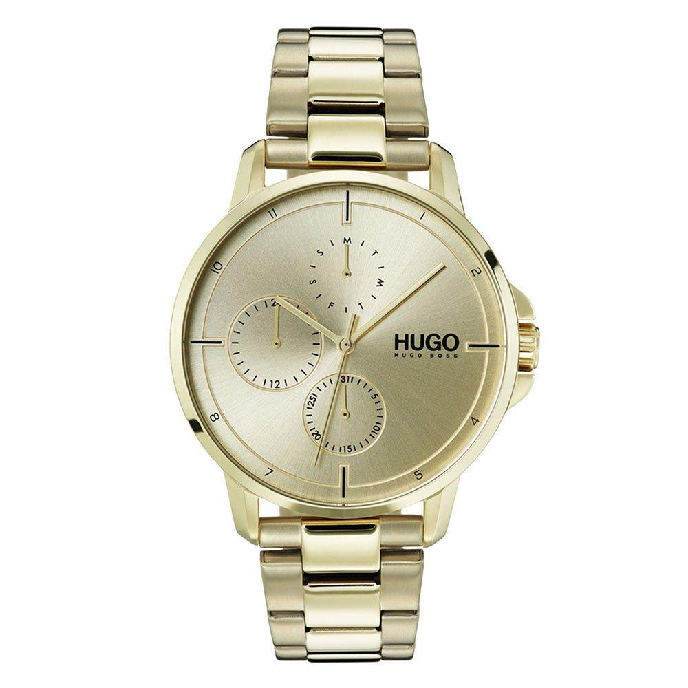 HUGO By Hugo Boss Focus Gold Tone Men's Watch