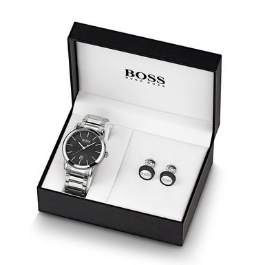 Hugo Boss Watch And Cufflink Men's Box Set