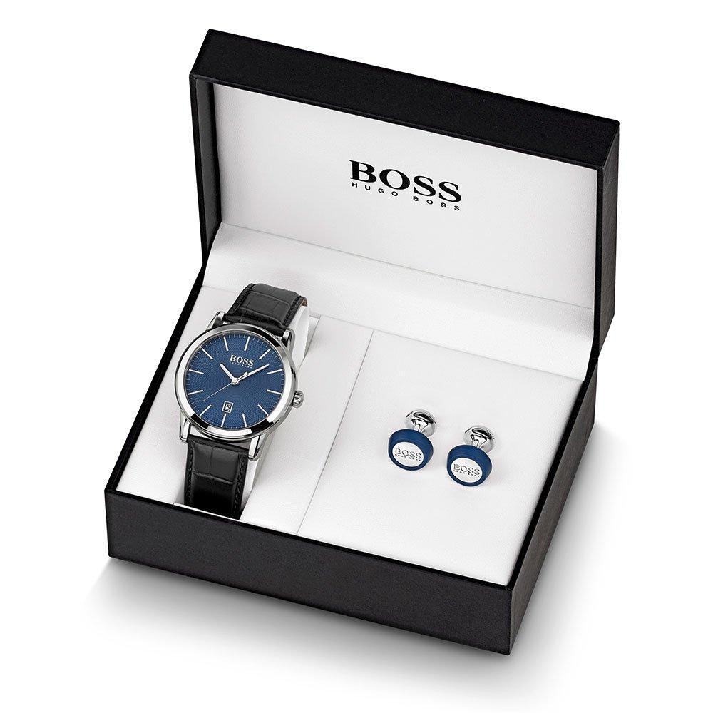 BOSS Watch And Cufflink Men's Box Set