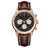 Breitling Navitimer B01 18ct Rose Gold Chronograph Automatic Men's Watch