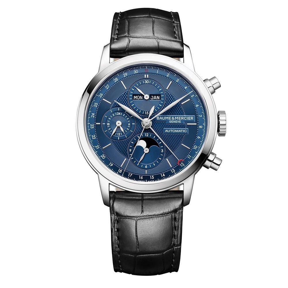 Baume & Mercier Classima Leather Men's Automatic Watch