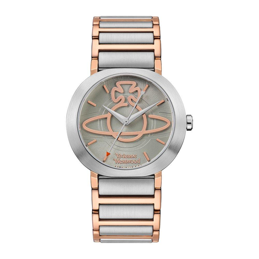 Vivienne Westwood Clerkenwell Steel And Rose Gold Tone Ladies Watch