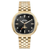 Vivienne Westwood Lexington Gold Plated Men's Watch