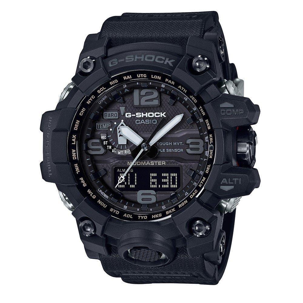 Casio Mudmaster Black Resin Analogue Men's Watch