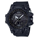 Casio Mudmaster Black Resin Analogue Men's Watch