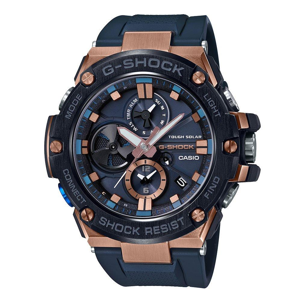 Casio G-Shock G-Steel Bluetooth Rose Gold Plated Chronograph Men's Watch